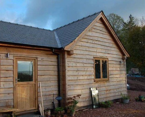 Exterior Wood Cladding | Feather | Waney | Straight | Usk Wales