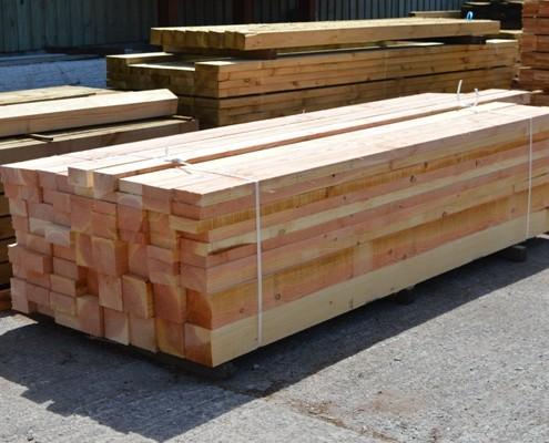 Timber Species Supplied In Wales Cilfiegan Sawmill
